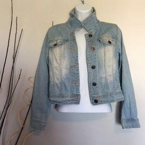 Cherokee denim jean jacket for girls